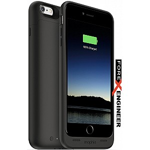 Mophie Juice Pack for iphone 6 / 6s plus (2600mah) - Black color