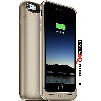 Mophie Juice Pack for iphone 6 / 6s plus (2600mah) - Gold color