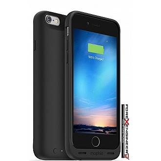 Mophie Juice Pack Reserve Lightweight and Compact Mobile Protective Battery Case for iphone 6 / 6s - black