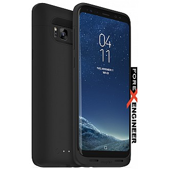Mophie juice pack wireless charging protective battery pack case for Samsung Galaxy S8 Plus (S8+) - Black color
