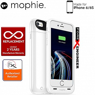 Mophie Juice Pack Ultra for iphone 6 / 6s highest charging capacity (3950mah) with shock impact absorber - White color