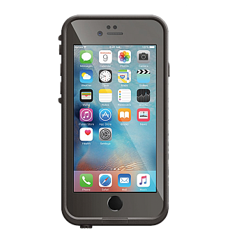 Lifeproof Fre Waterproof, Shock-proof, Dirt-proof Case for iPhone 6/6S - Grind Grey color