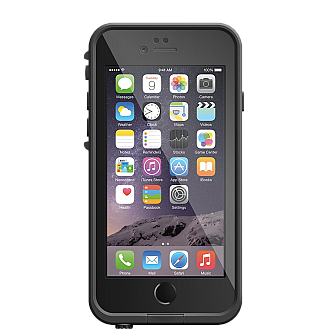 Lifeproof Fre Waterproof, Shock-proof, Dirt-proof Case for iPhone 6 ONLY - Black color