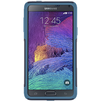 Otterbox Commuter Series for Samsung Note 4   (Ink Blue / Deep Water Blue)