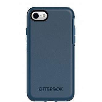 Otterbox Symmetry Series Case for iphone 7 - Drop proof, Shock Proof case - Blue (Bespoke) (Compatible with iPhone SE 2nd Gen 2020)