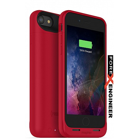 Mophie Juice Pack air for iphone 7 / 8 - Red Special Edition color (wireless charge capable)