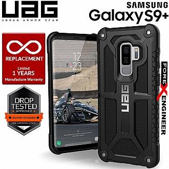 UAG Monarch for Samsung Galaxy S9+ / S9 Plus Military Drop Protection - Black Color