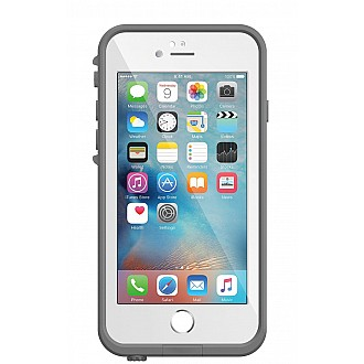 Lifeproof Fre Waterproof, Shock-proof, Dirt-proof Case for iPhone 6/6S - white