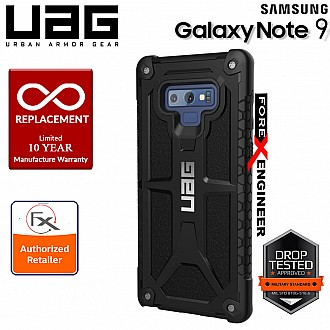 UAG Monarch for Samsung Galaxy Note 9 - Rugged Military Drop Tested Phone Case - Black Color