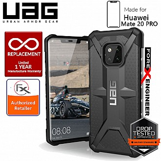 UAG Plasma for Huawei Mate 20 Pro - Feather-Light Rugged Military Drop Tested - Ash color