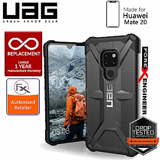UAG Plasma for Huawei Mate 20 - Feather-Light Rugged Military Drop Tested - Ash