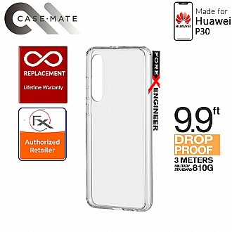 Case-Mate Tough Clear Case for Huawei P30 - 3 meters Drop Protection - Clear