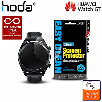 Hoda PET Screen Protector for Huawei Watch GT - Anti Smudge Screen Protector (2 pcs) - Clear