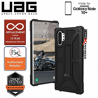 UAG Monarch for Samsung Galaxy Note 10+ / Note 10 Plus - Rugged Military Drop Tested - Black