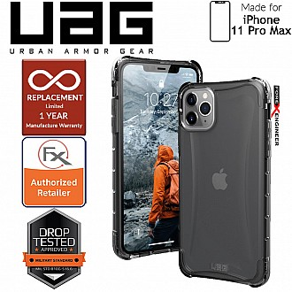 [READY-STOCK]  UAG Plyo for iPhone 11 Pro  Max - Feather-Light Rugged & Military Drop Tested- Ash