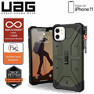 UAG Pathfinder for iPhone 11 - Feather Light Rugged & Military Drop Tested - Olive Drab