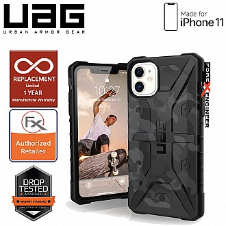UAG Pathfinder for iPhone 11 - Feather Light Rugged & Military Drop Tested - Midnight Camo