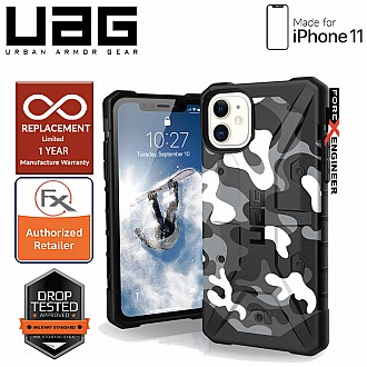 UAG Pathfinder for iPhone 11 - Feather Light Rugged & Military Drop Tested - Arctic Camo