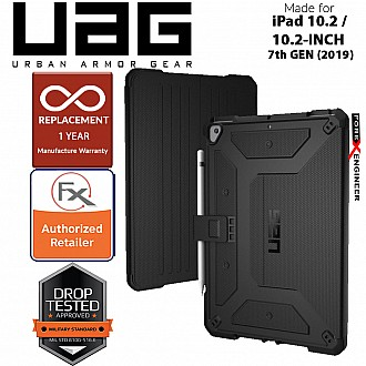 "UAG Metropolis for iPad 10.2"" / 10.2 inch 7th Gen ( 2019 ) ( Black )"