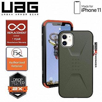 UAG Civilian for iPhone 11 - Olive Drab Color