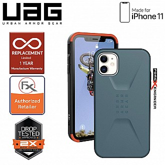 UAG Civilian for iPhone 11 - Slate Color