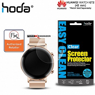 Hoda PET Screen Protector for Huawei Watch GT2 42mm - Anti Smudge Screen Protector - 2 pcs Clear