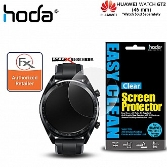 Hoda PET Screen Protector for Huawei Watch GT2 46mm - Anti Smudge Screen Protector - 2 pcs Clear