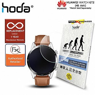 Hoda 0.21mm Tempered Glass for Huawei Watch GT2 46mm (2PCS) Screen Protector - Clear