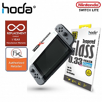 Hoda 0.33mm Tempered Glass for Nintendo Switch Lite - Clear