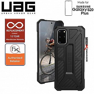 "UAG Monarch for Samsung Galaxy S20+ / S20 Plus 6.7"" - Carbon Fiber Color"