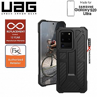 "UAG Monarch for Samsung Galaxy S20 Ultra 6.9"" - Carbon Fiber Color (Barcode: 812451033984)"