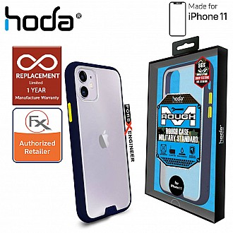 HODA ROUGH Military Case for iPhone 11 - Military Drop Protection - Dark Blue Color ( Barcode: 4713381514856 )