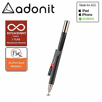 Adonit Jot Pro 4.0 ( Black ) Compatible for All Touchscreens ( Barcode: 847663023171 )