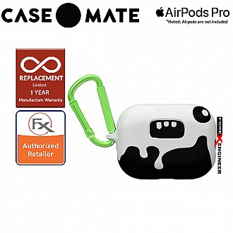 Case Mate Creature Pods for Airpods Pro - Ozzy Dramatic Case with Green Carabiner Clip ( Barcode : 846127191821 )