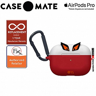 Case Mate Creature Pods for Airpods Pro - Edge The Bad Boy Case with Black Carabiner Clip ( Barcode : 846127191838 )