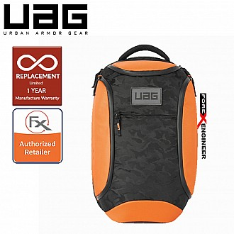 """UAG The Standard Issue 24 Liter backpack - Fit 16"""" Laptop and Weather resistant materials - Orange Midnight Camo Color ( Barcode : 812451033533 )"""