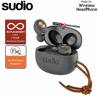 Sudio TOLV True Wireless Earbuds - Instant pairing - Anthracite/Copper  Color ( Barcode : 7350071383667 )