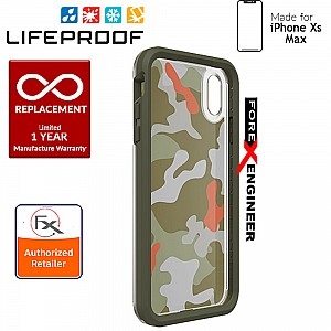Lifeproof SLAM Graphic for iPhone Xs MAX - 2 Meters Military Drop Protection - Woodland Camo