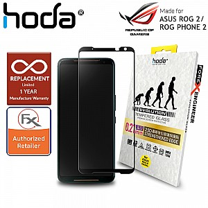 Hoda 0.21mm 2.5D Tempered Glass for  ASUS ROG 2 / ASUS ROG Phone 2 ( ZS660KL ) 2019 ( Clear )