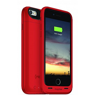 Mophie juice pack air - Slim Protective Mobile Battery Pack (2750mah) Case for iPhone 6/6s - Red Special Edition
