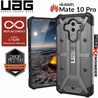 UAG Plasma for Huawei Mate 10 Pro - Feather-Light Rugged Military Drop Tested - Ash color