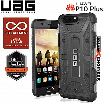 UAG Plasma for Huawei P10 Plus - Feather-Light Rugged Military Drop Tested - Ash color