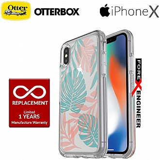 Otterbox Symmetry Series Clear Graphic for iPhone X - Easy Breezy