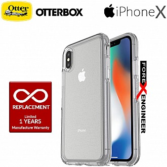 OtterBox Symmetry Clear Series for iPhone X - Stardust  Color