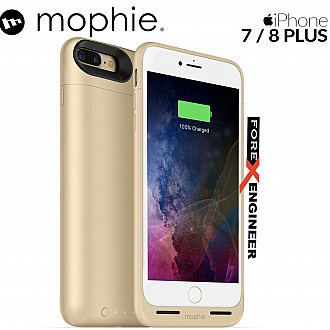 Mophie Juice Pack air for iphone 7 / 8 plus - gold color (wireless charge capable)