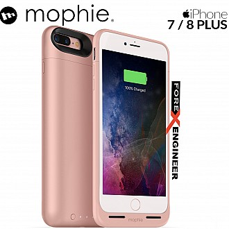 Mophie Juice Pack air for iphone 7 / 8 plus - rose gold color (wireless charge capable)
