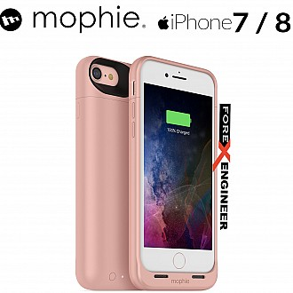 Mophie Juice Pack air for iphone 7 / 8 - rose gold color (wireless charge capable) (Compatible with iPhone SE 2nd Gen 2020)