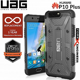 UAG Plasma for Huawei P10 Plus - Feather-Light Rugged Military Drop Tested - Ice color
