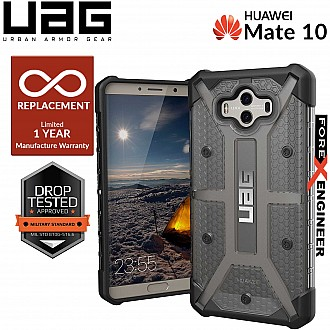 UAG Plasma for Huawei Mate 10 - Feather-Light Rugged Military Drop Tested - Ash color