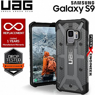 UAG Plasma for Samsung Galaxy S9 Feather-Light Rugged Military Drop Protection - Ash Color